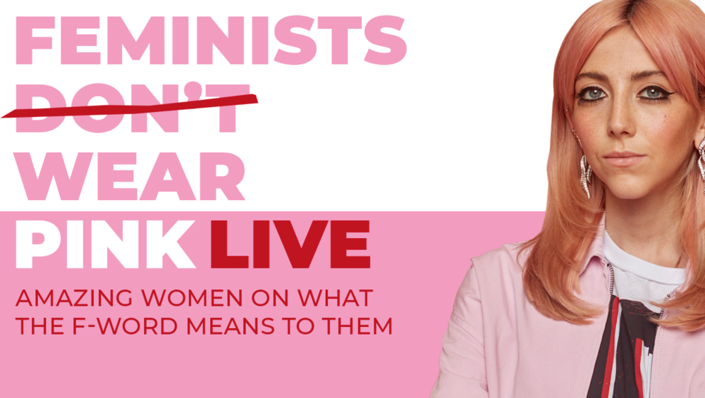 Feminists Don't Wear Pink: Live - Literature | Book | Podcast Recording