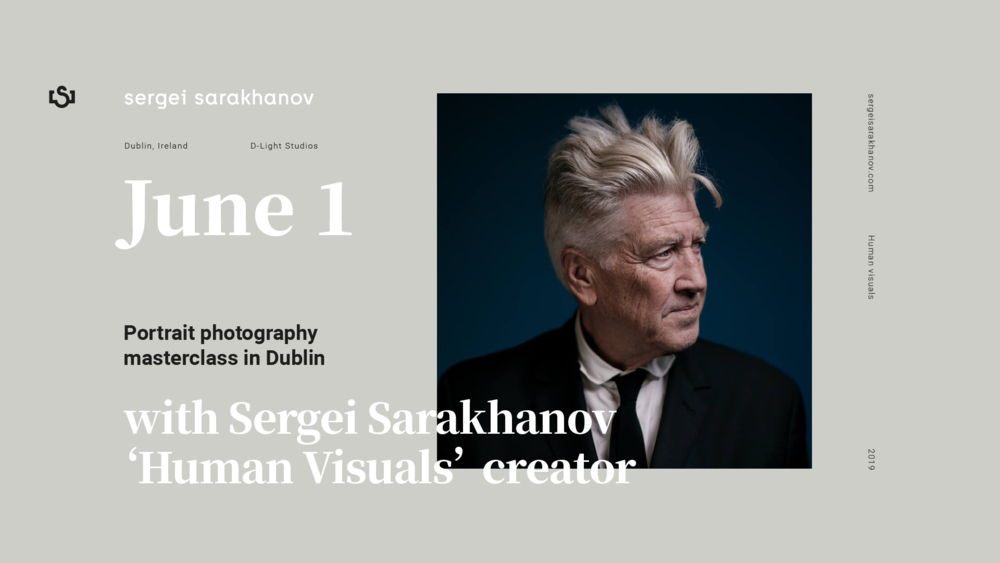 Portrait Photography Masterclass with Sergei Sarakhanov - D-Light Studios