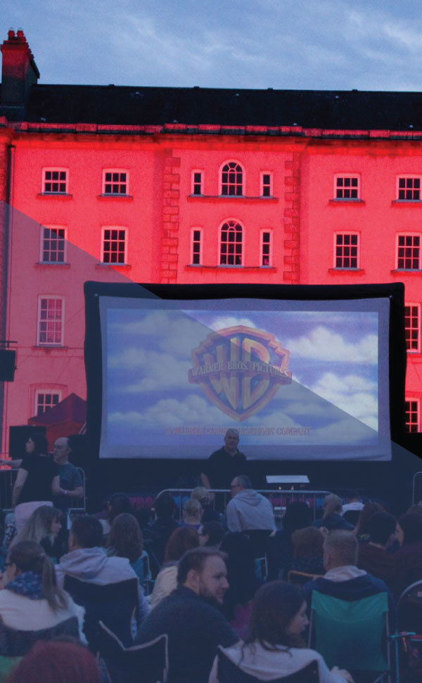 Open Air Cinema - Carlow Arts Festival