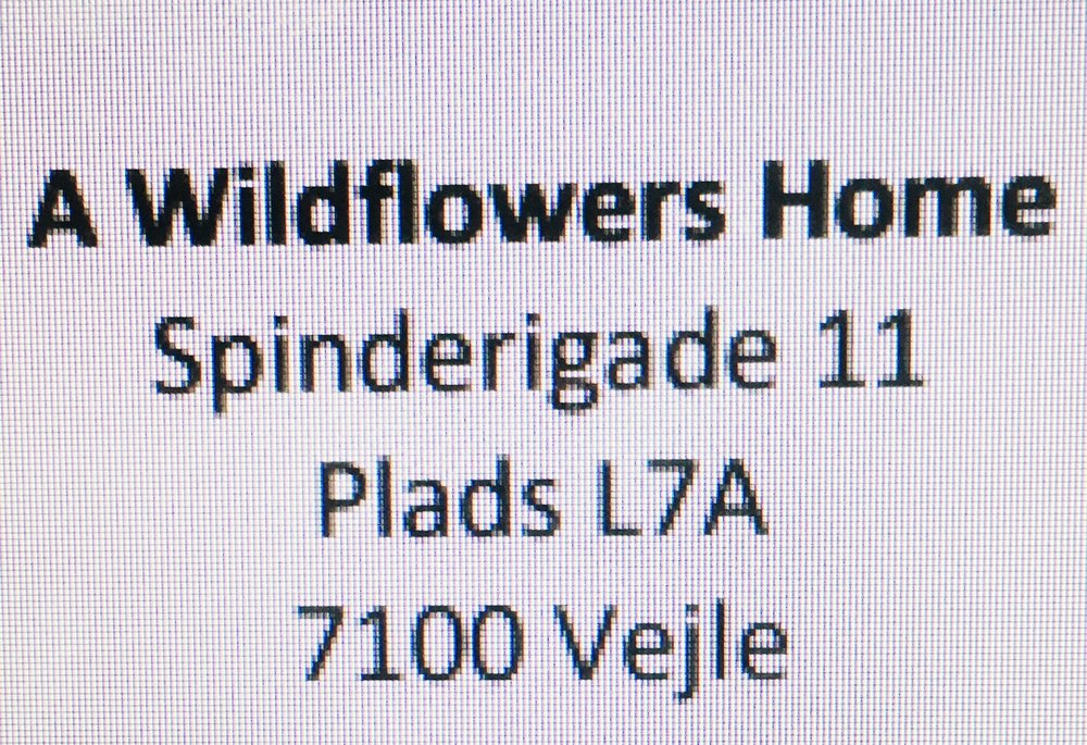 A Wildflowers Home / Spinderigade 11, Plads L7A, 7100 Vejle