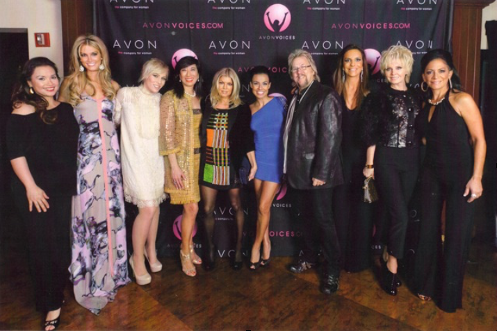 David music-directs Avon Voices finale at the Hard Rock NYC, November 2011.  featuring Fergie, Natasha Beddinfield, Sheila E, and others,