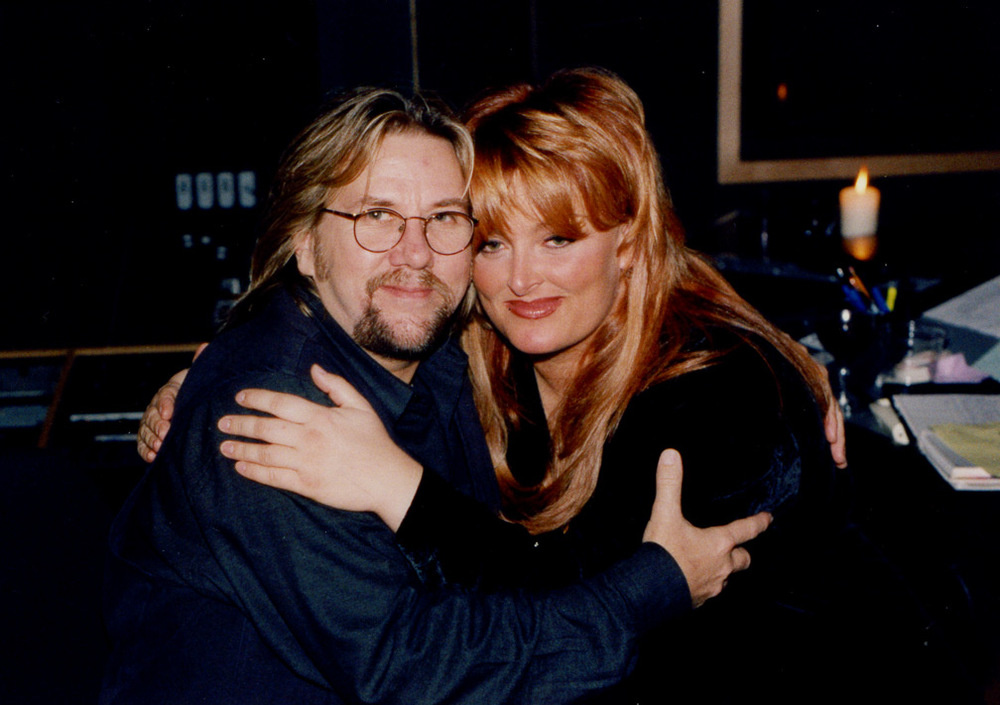 "Wynonna Judd and DP hug it out while he produces songs he wrote for her ""The Other Side"" album"