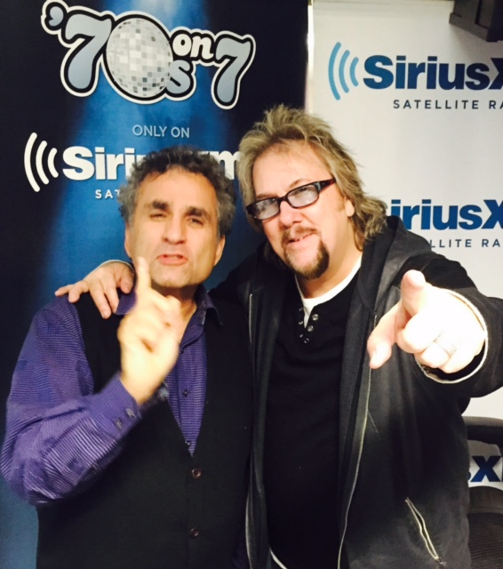 David with Sirius's Steve Leeds