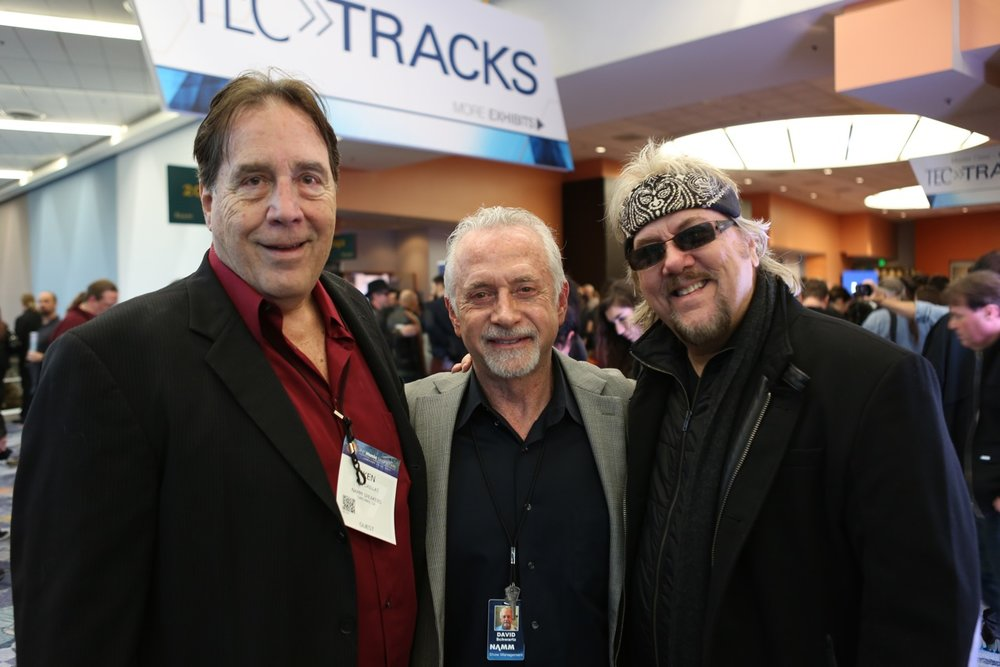 DP and Ken Caillat with David Schwartz of TEC Tracks