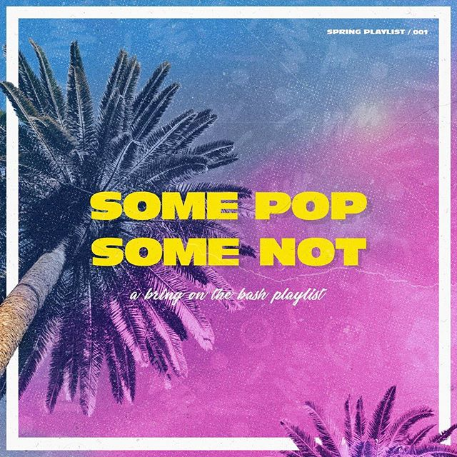 @pete__rodriguez and I have teamed up to make a monthly playlist called Some Pop, Some Not. He does the art, I pick the music. Link in the bio for a looky-lou! #somepopsomenot #playlists