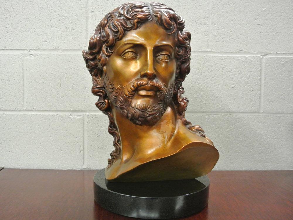 Michelangelo's Resurrected Christ Bust in Bronze - Projects