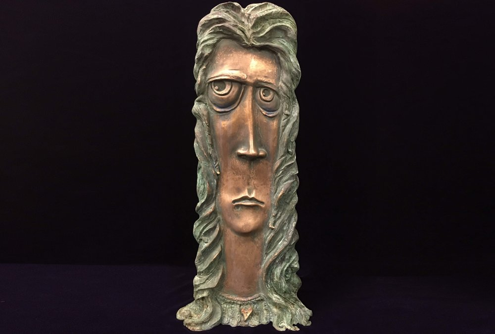 Eve  Limited edition bronze sculpture.  21 X 9 X 5""
