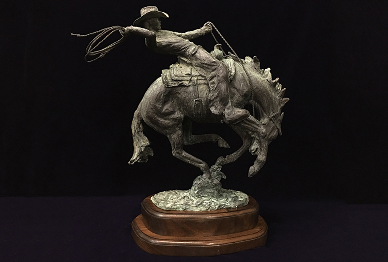 Wrangler | 2017  Click the image to see more of this great sculpture!