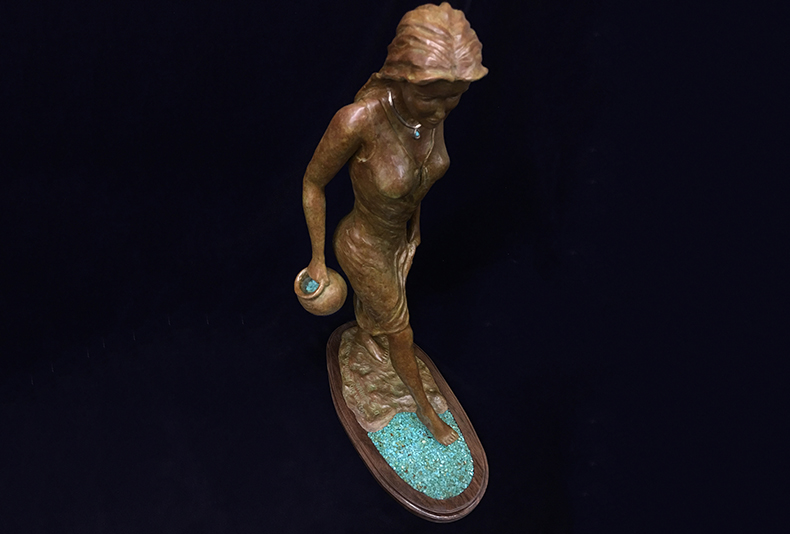 Walks on Water | 2017  Click the image to see more of this great sculpture!