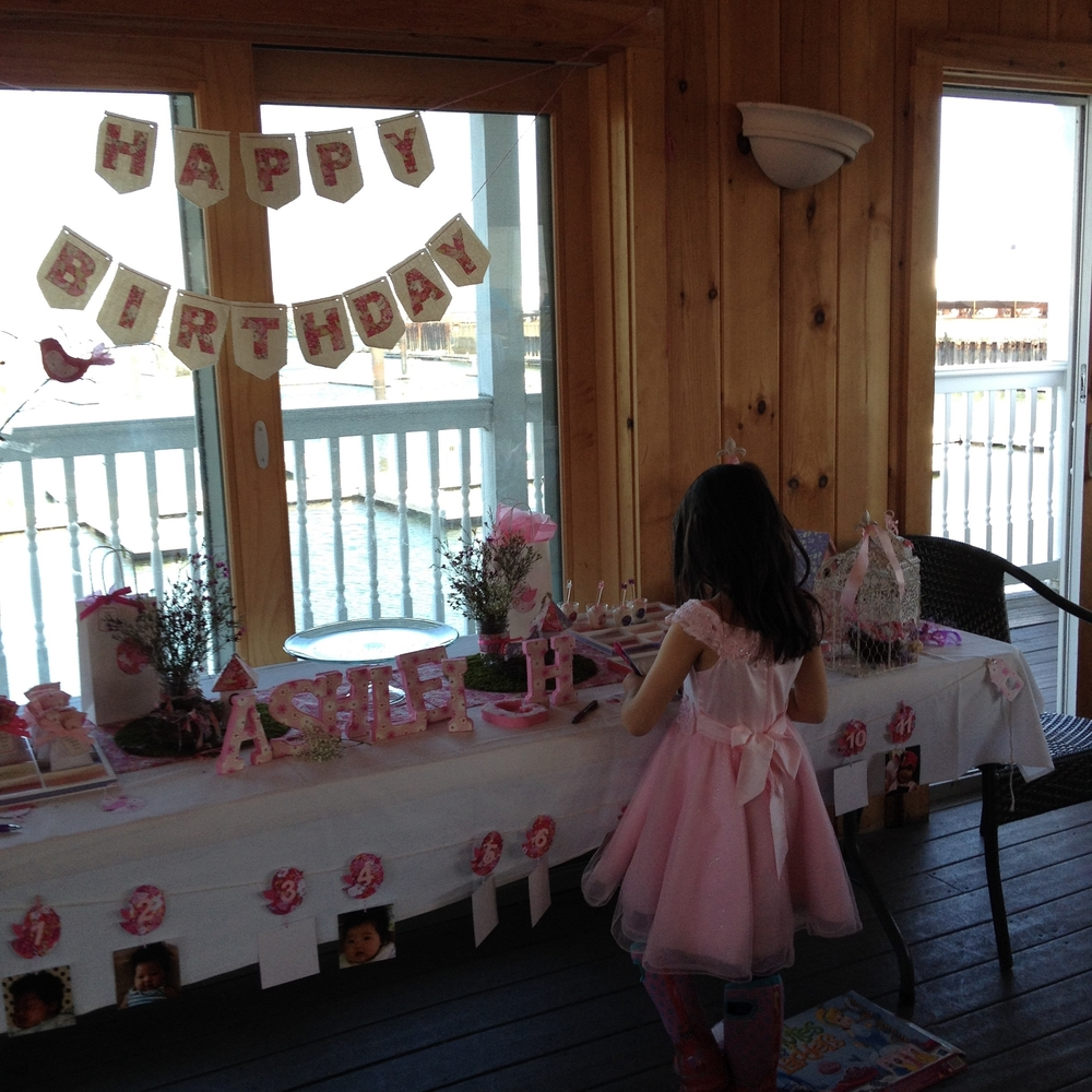 First Birthday party for Ashleigh