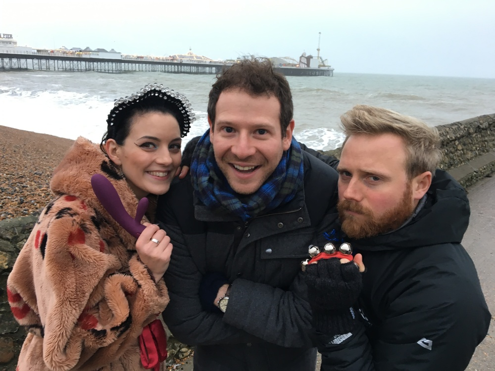The Modern Mann team decamp to Brighton. It's Winter, you know. Mum always says to bring your scarf, and your vibrator.