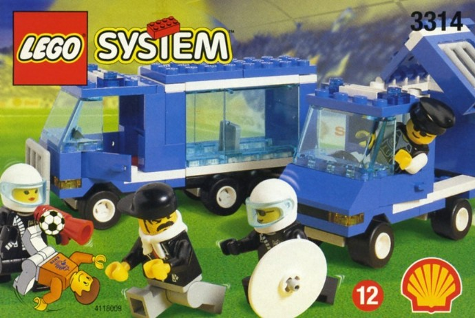 The Lego 'hooliganism set'  really did exist , in 1998...
