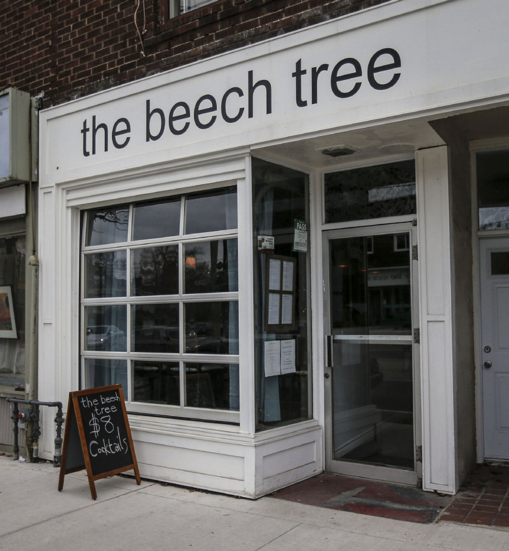 The Beech Tree, Robert's restaurant, is  still open  in Toronto - under new management
