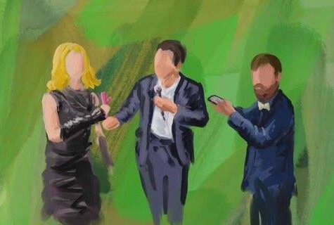 The Modern Mann team as painted by our artist-in-residence,    Danny Mooney   , who has prosopagnosia