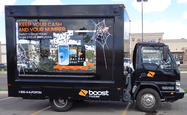 Boost Glass Box Truck