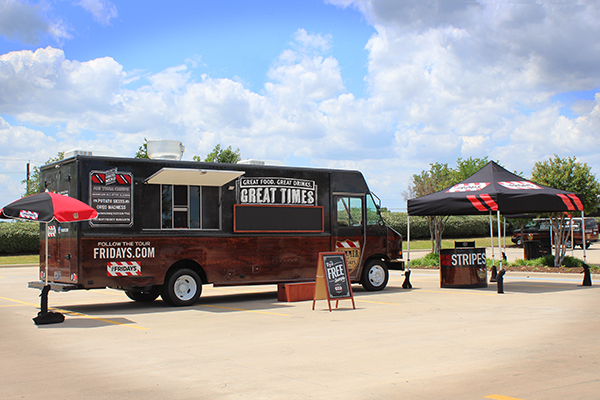TGIFriday's Food Truck
