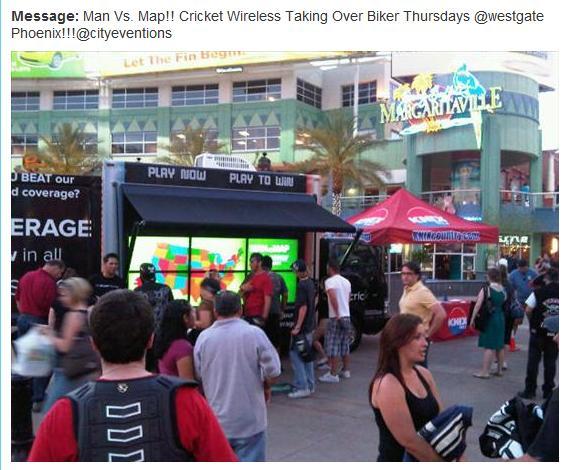 Cricket Interactive Digital Truck