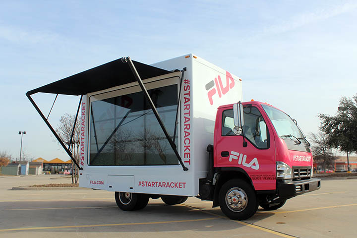 FILA Digital Truck