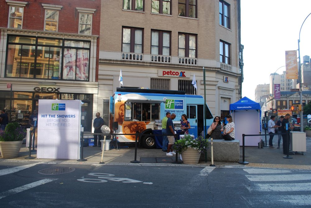 Holiday Inn Express Food Truck