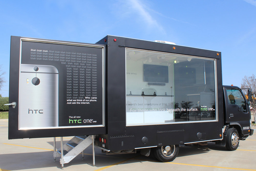 HTC Glass Box Truck