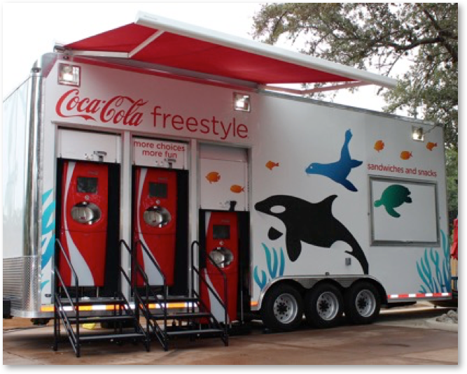 Coke Freestyle Trailer