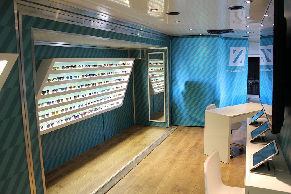 Zenni Glasses Show Room - RV
