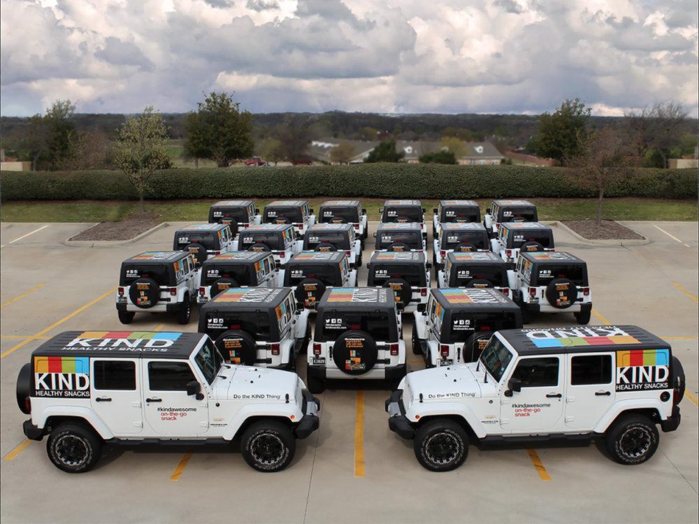 KIND Jeep Wrangler Fleet