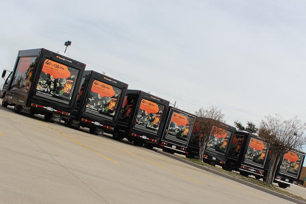 Boost Glass Box Truck Fleet