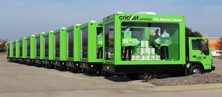 Cricket Glass Box Truck Fleet