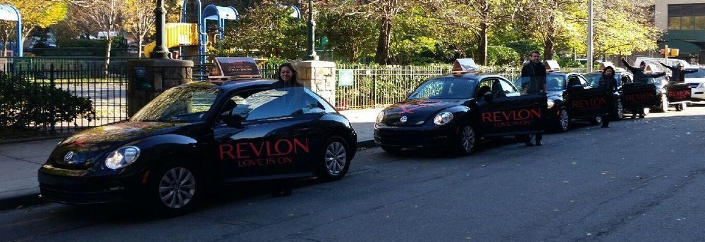 Revlon VW Bug Fleet