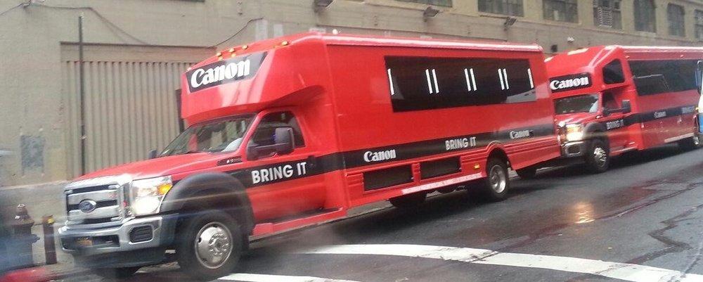 Canon Bus Fleet