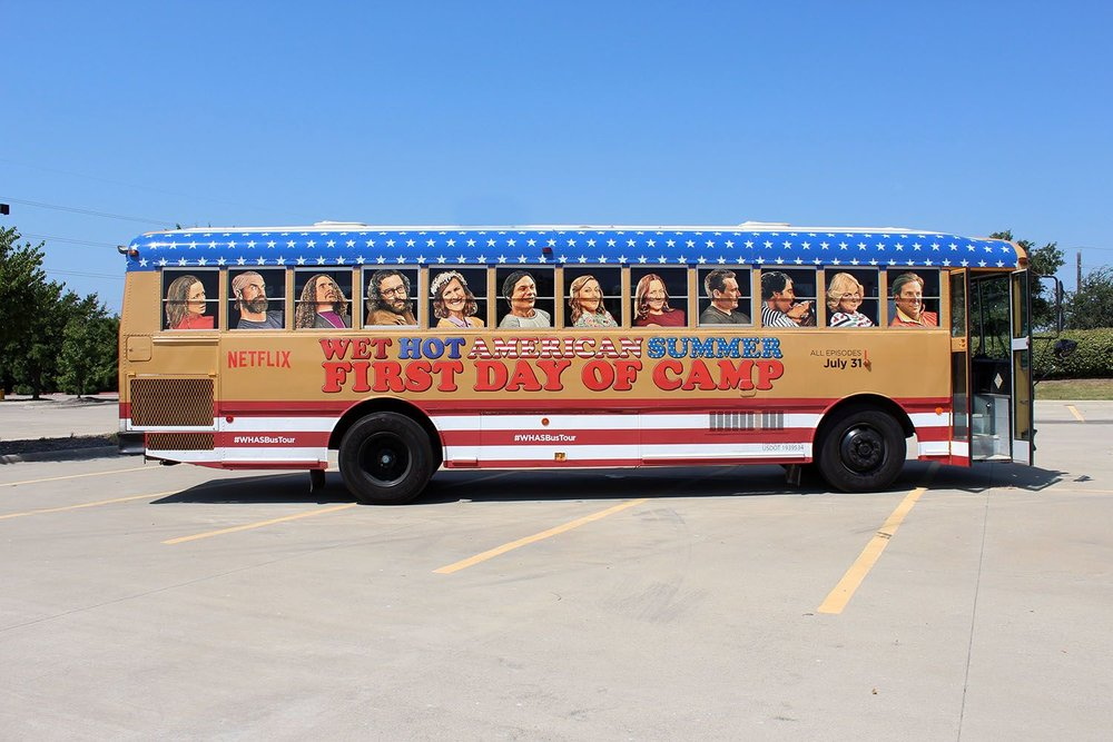Wet Hot American Summer Bus