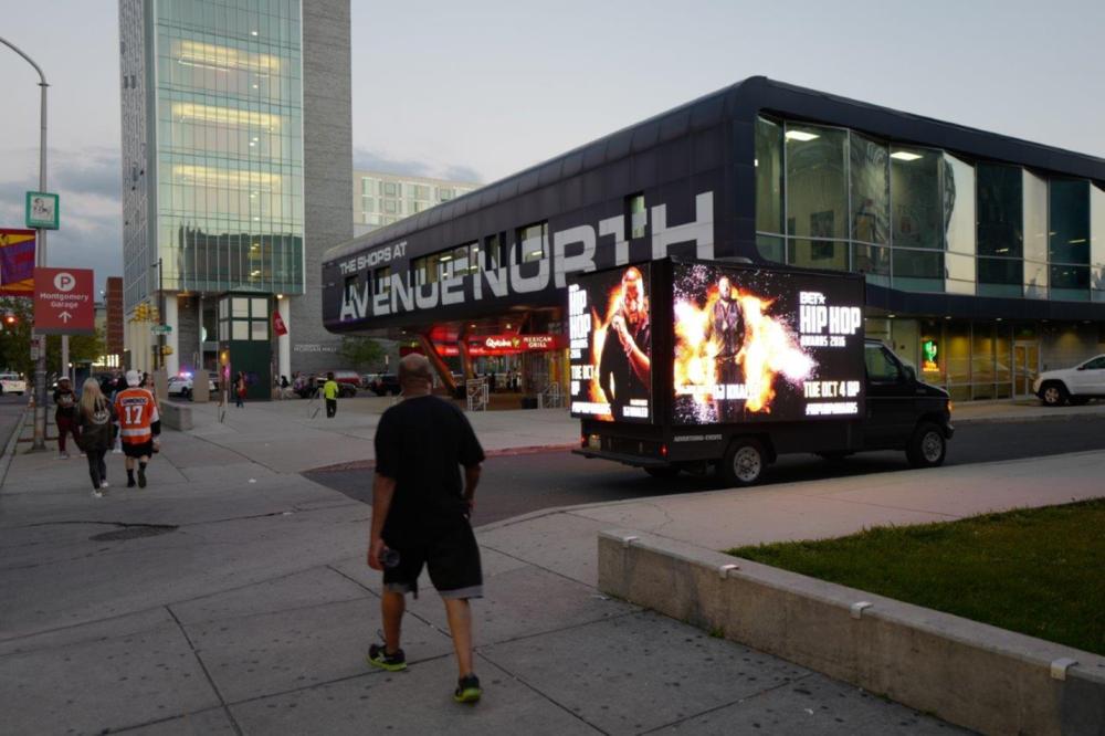 LED Box Truck