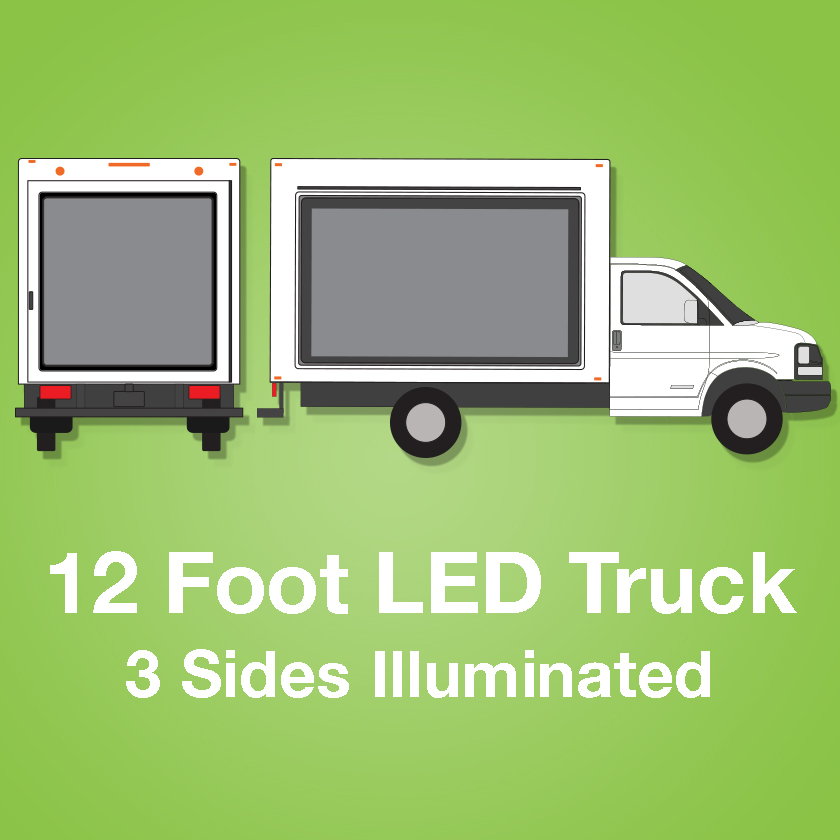 12 Foot LED Truck