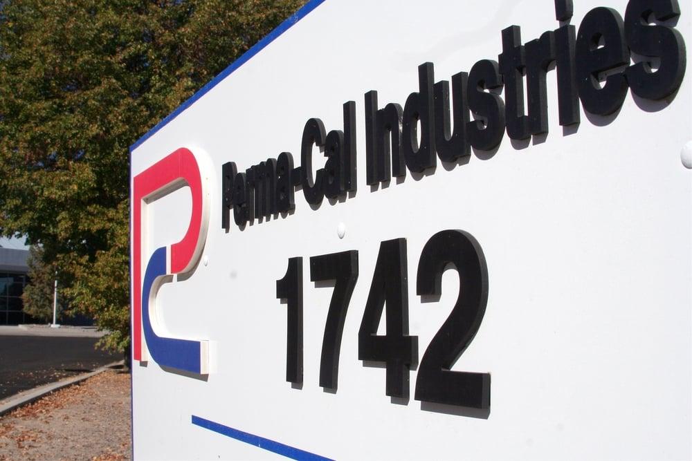 PCII Driveway Sign at Angle.jpg