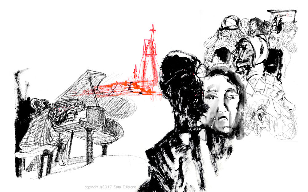 Harvard University's Music, Race, and Justice/Black Lives Matter conference.Pianist Karen Walwyn musically tells the story of slavery and the 2015 shooting at the Mother Emmanuel Church in S.C.
