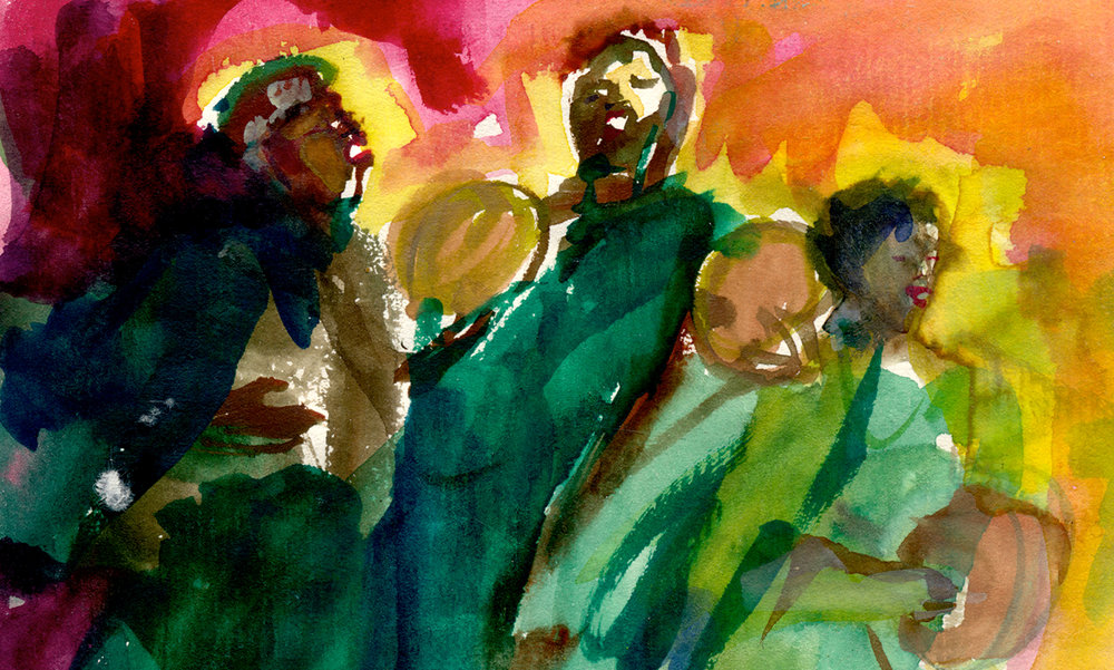 Moraccan musicians, EPCOT