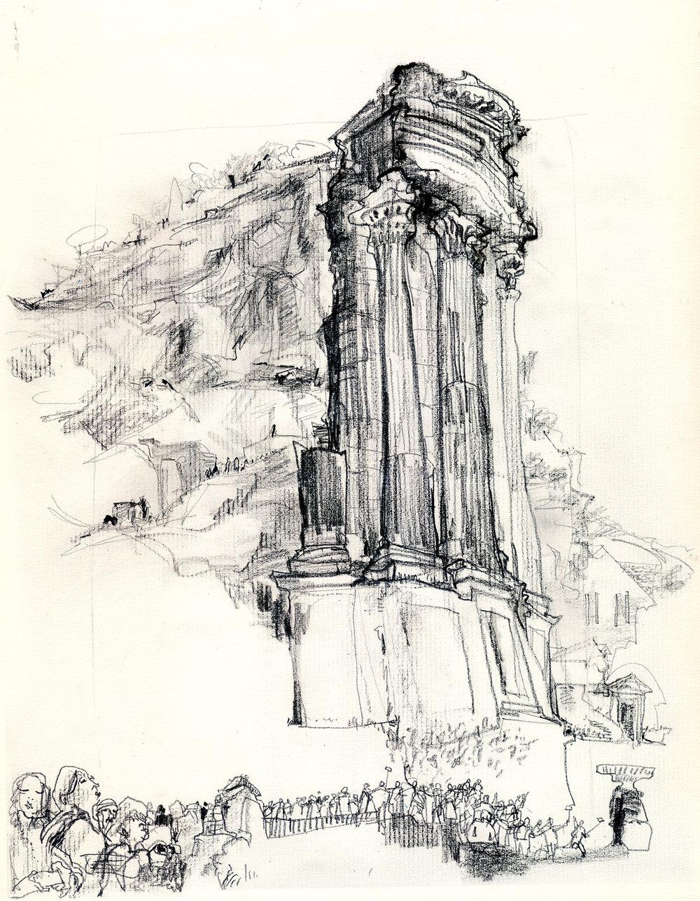 Temple of Vesta, Roman Forum
