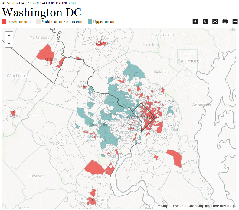Segregation Washington DC