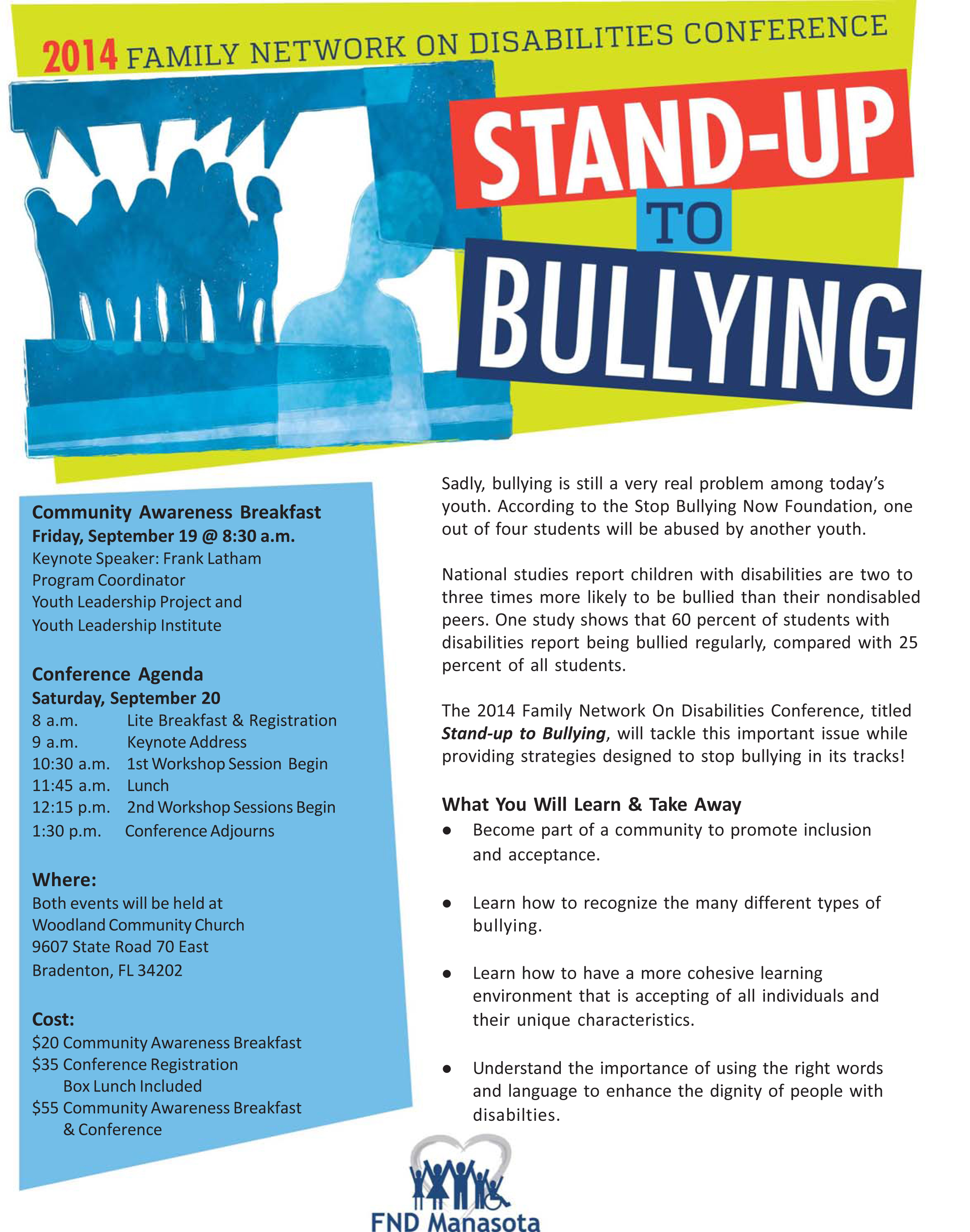 2014 Bullying Conference