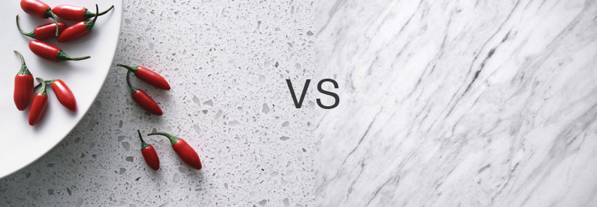 Granite vs. Quartz vs. Marble...what you need to know!