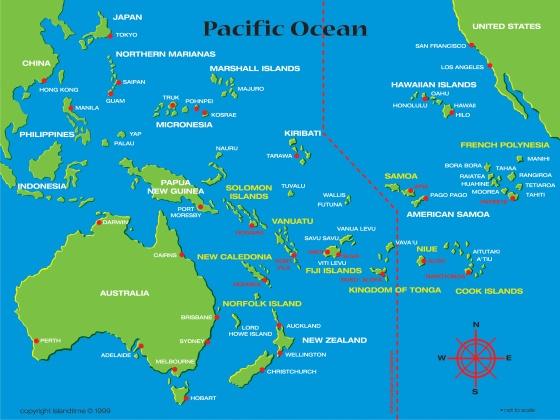 Samoa The Road Lance Traveled - Samoa map