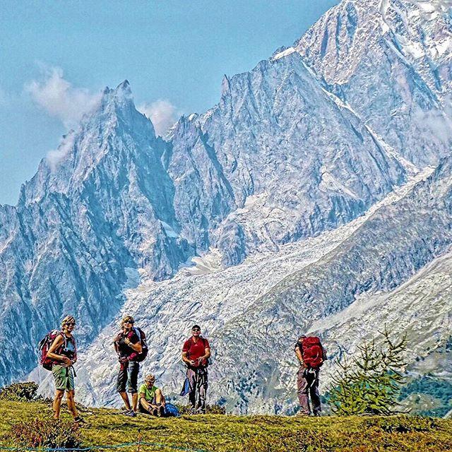 Tour du Mont Blanc  #tourdumontblanc #travelblog #alpinehiking #montblanc