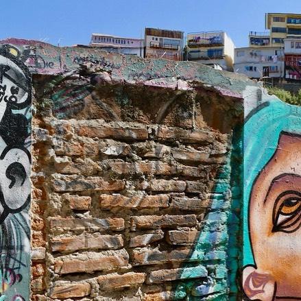 Valparaíso - the city of murals #Valparaíso #Vina del Mar #Canadian Travel Blogger #Chile