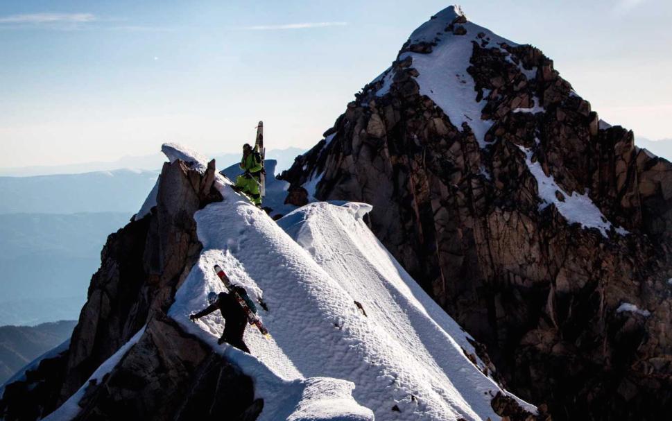 Pirating Routes of Capitol Peak.