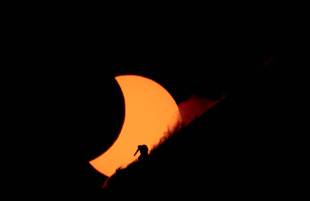 Behind the Eclipse: Rueben Krabbe's Quest. Screenshot from Salomon Freeski TV .