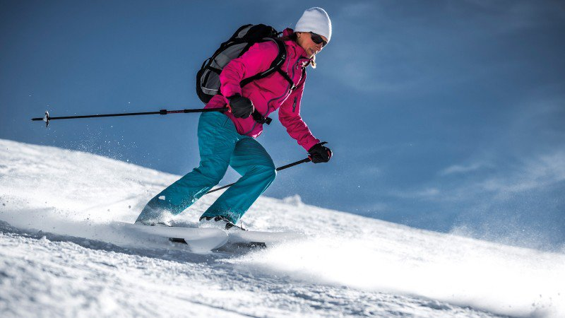 Disturbing Development: Crossblades, a Snowshoe-Ski Hybrid. Why you would use these things instead of touring skis is beyond us. But hey, anything in the name of snowsports innovation, right?