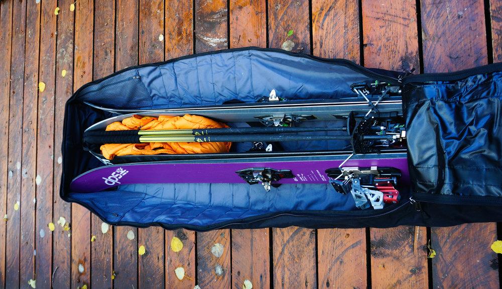 Gear Locker: Douchebag Rolling Ski Bag.