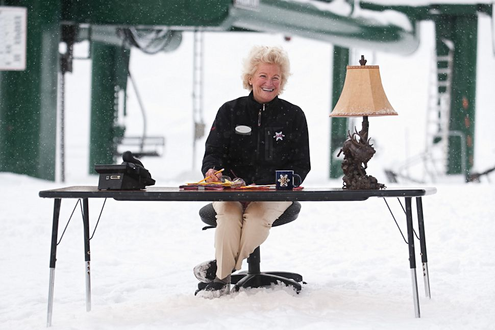 The Matriarch of Alta Reflects on Her 44-Year Career.    Photo: Keith Carlsen.