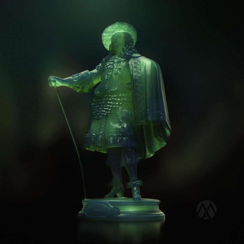 SSS Octane Statue